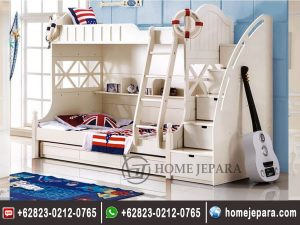 Tempat Tidur Tingkat Modern Jepara  TFR – 0157