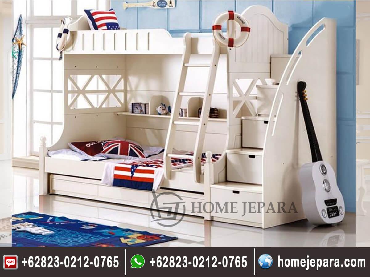Tempat Tidur Tingkat Modern Jepara TFR - 0157