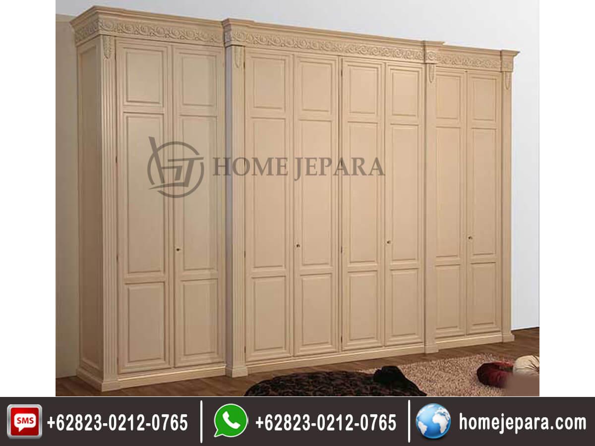 Lemari pakaian minimalis 8 pintu duco TFR - 0148