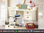 Meja Belajar Minimalis Duco Putih TFR – 0155