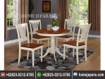 Set Meja Makan Furniture Cat Duco