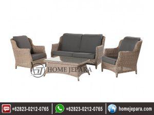 Sofa Tamu Rotan Antikan