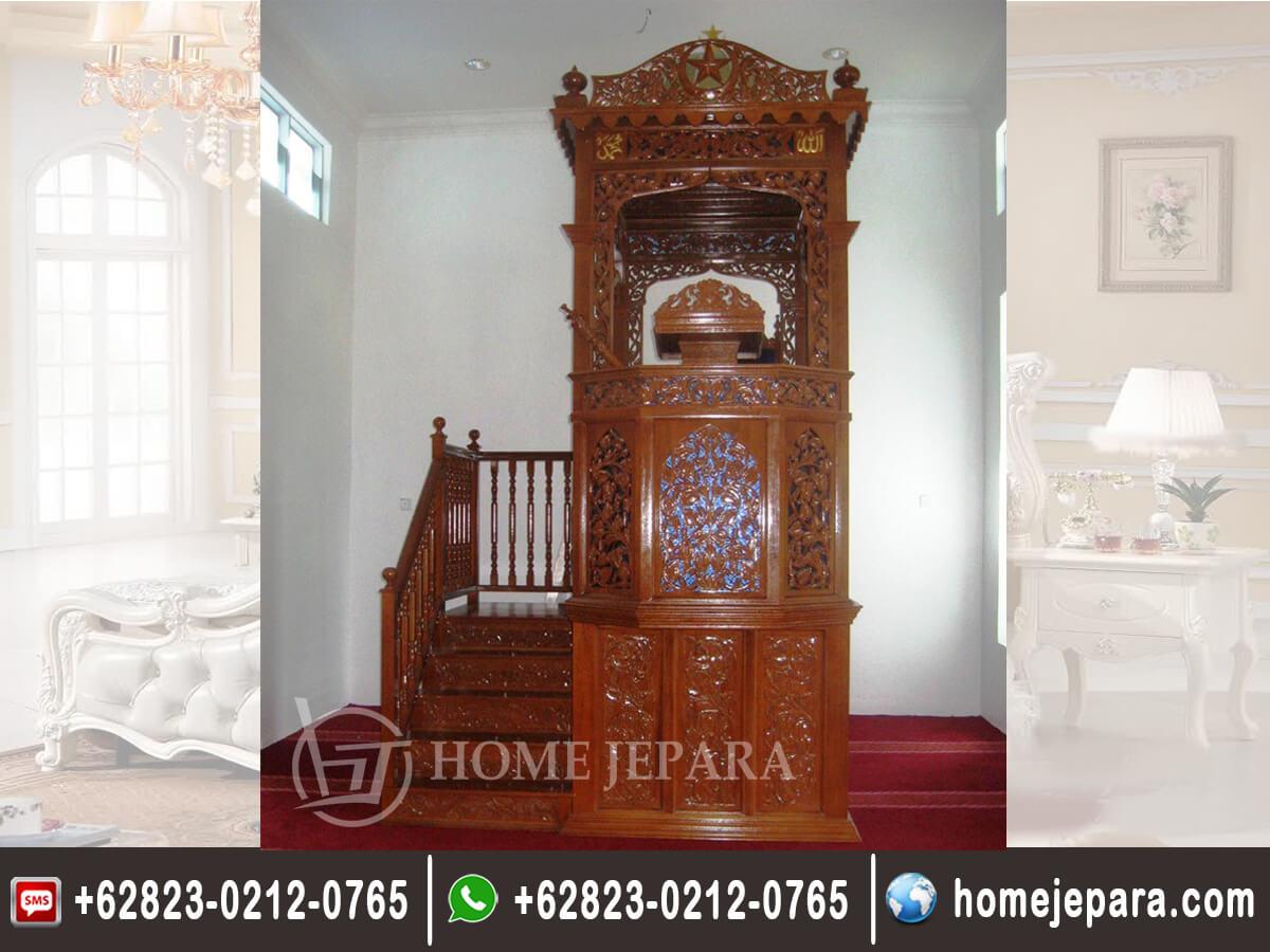 Mimbar Masjid Terbaru TFR - 0171
