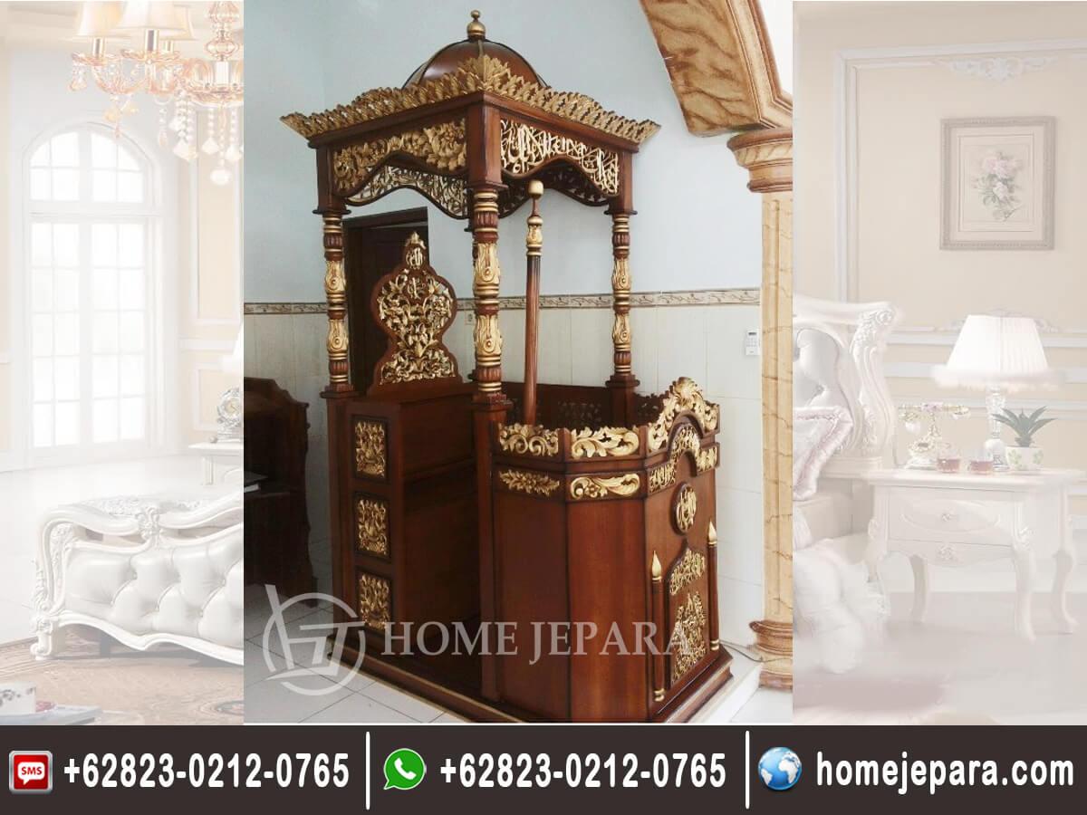Mimbar Masjid Motif TFR - 0291