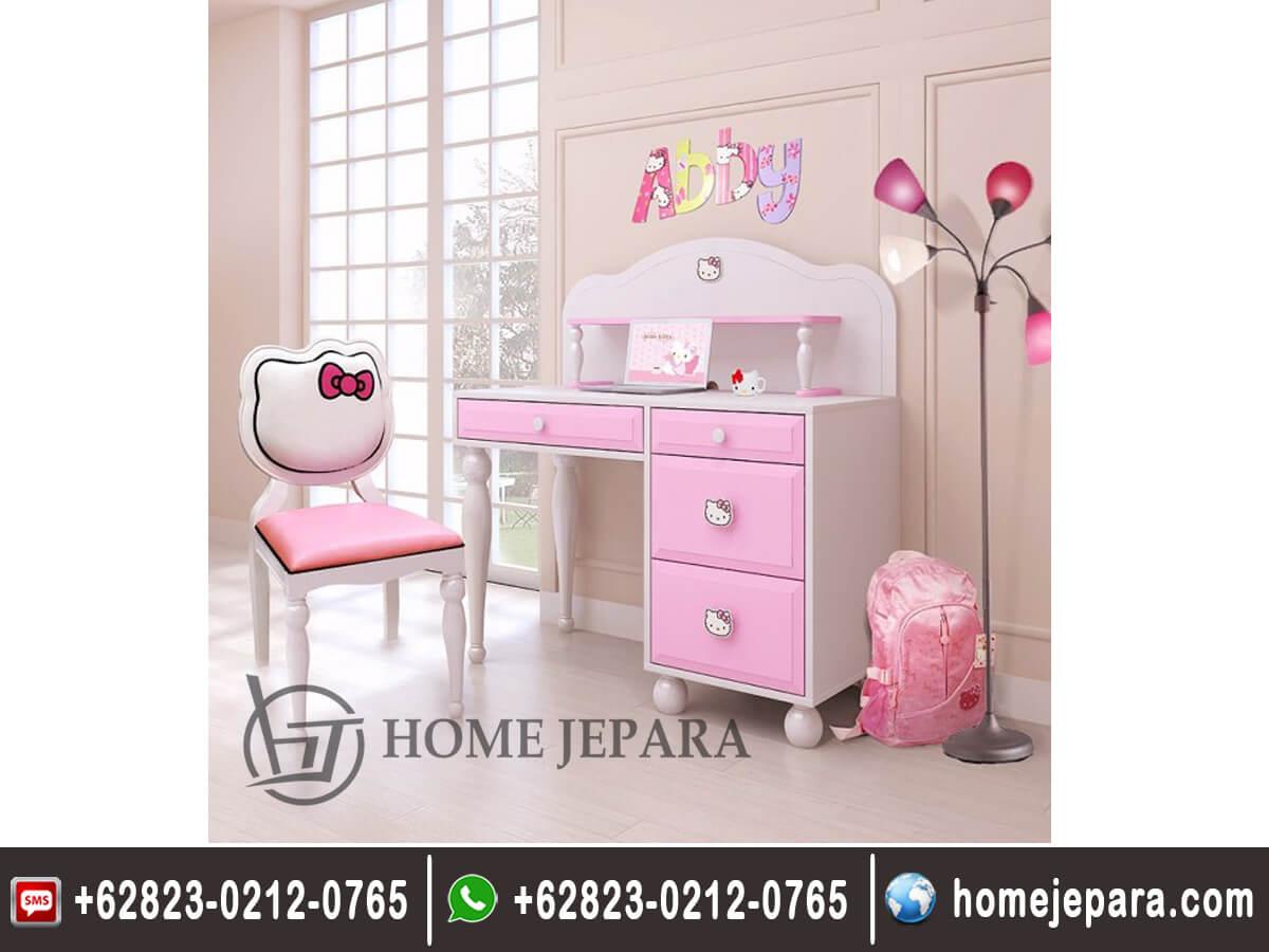 Meja Belajar Hello Kitty Anak Perempuan TFR - 0154