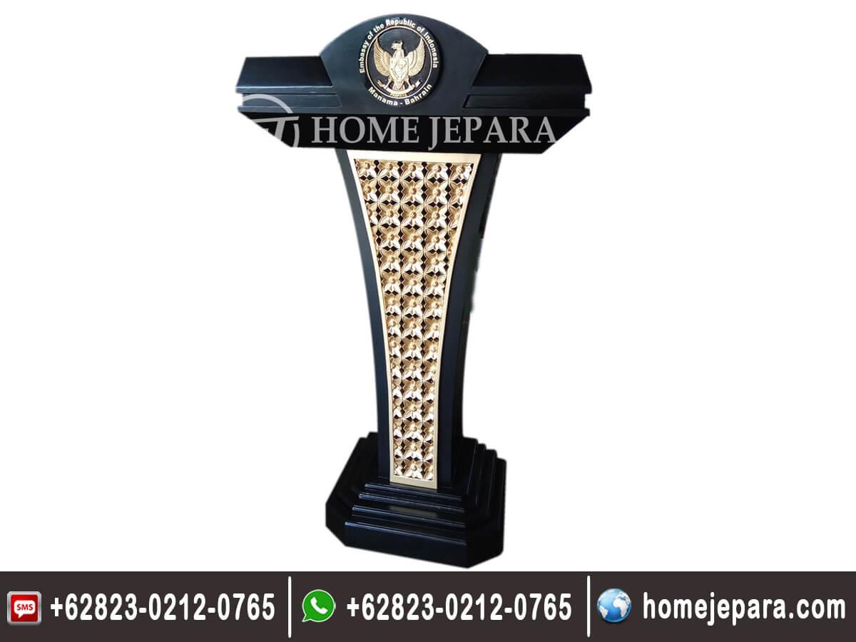 Mimbar Podium Garuda Gold TFR - 0138-2