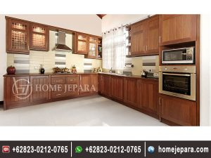 Kitchenset Minimalis Jati Jepara TFR – 0229