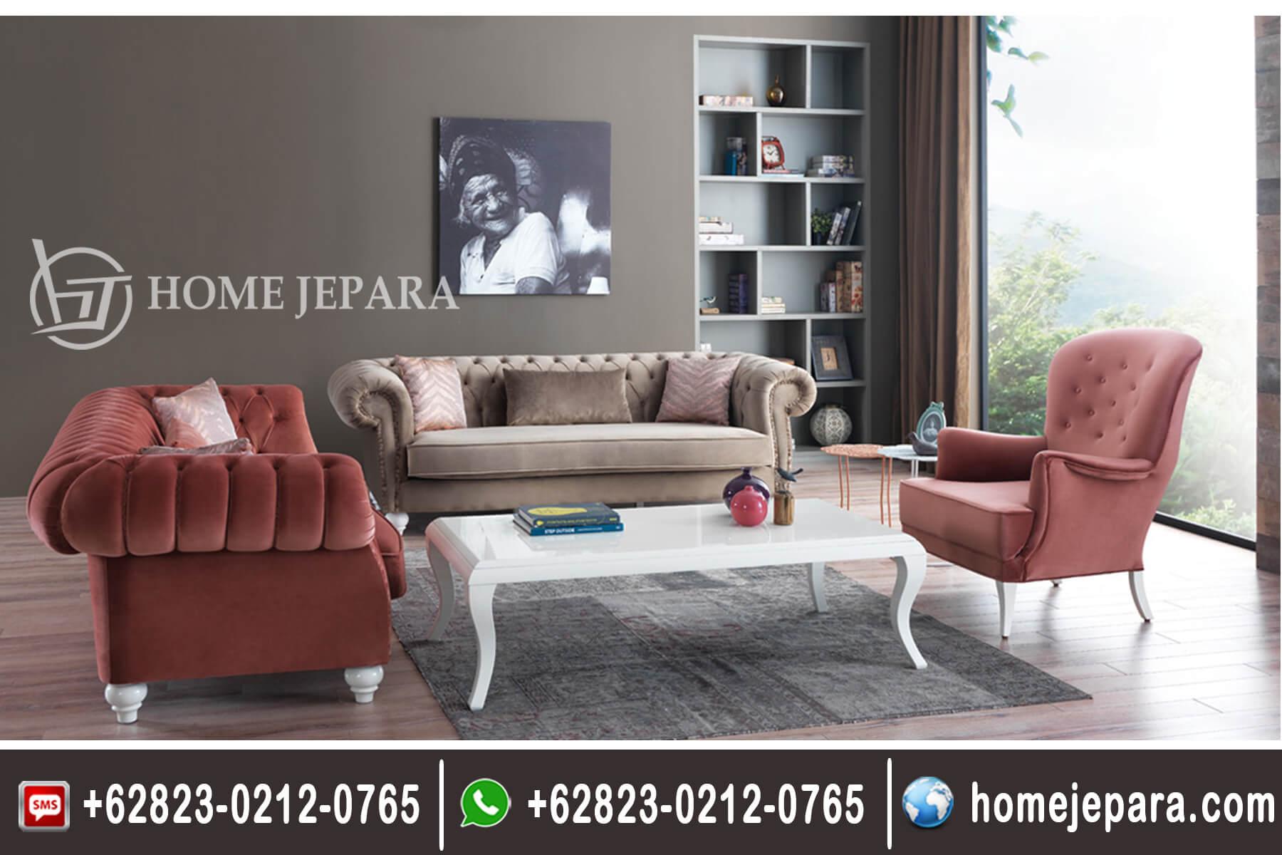 Kursi Sofa Tamu Klasik Modern TFR - 0469