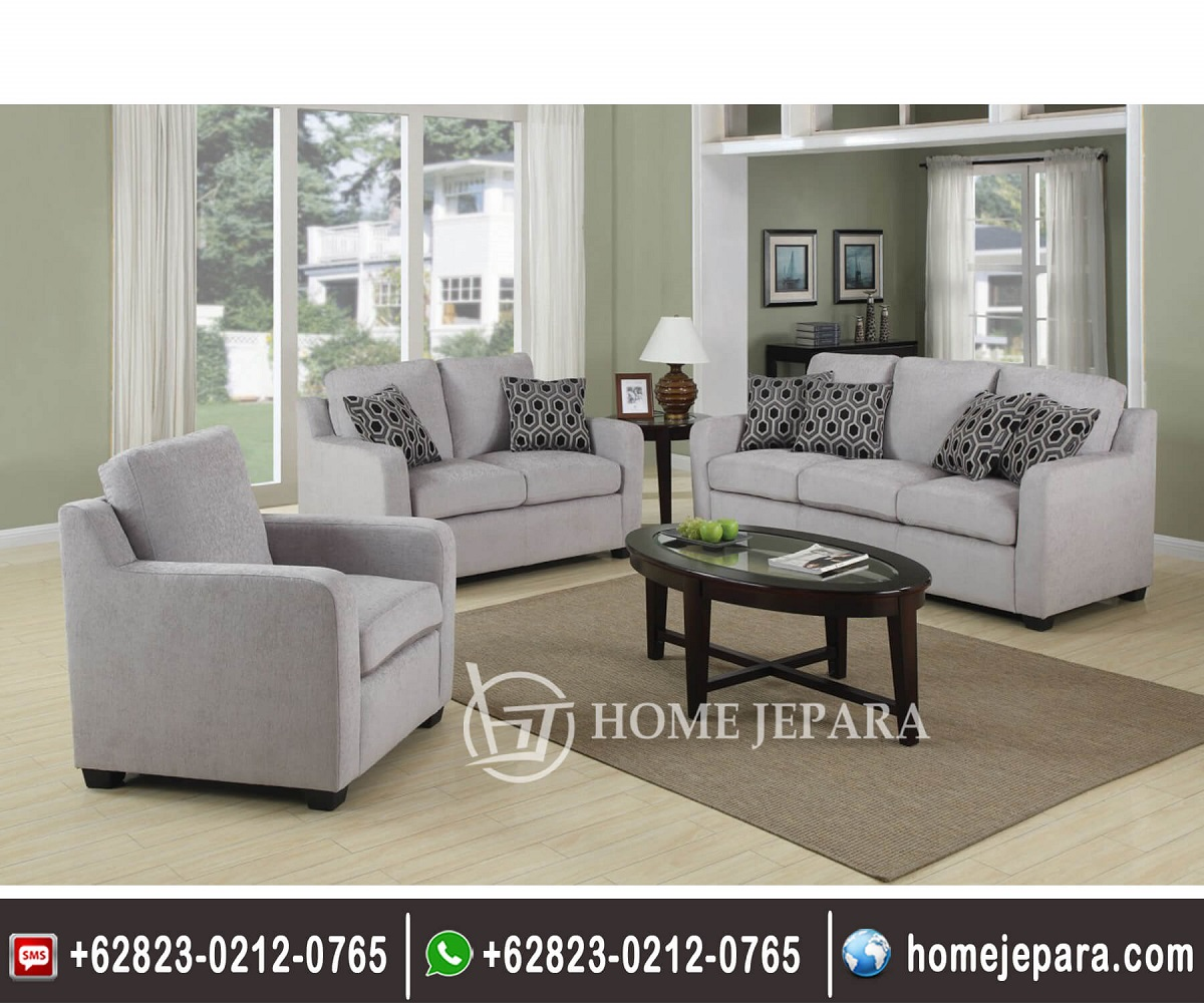 Set Sofa Tamu Minimalis Model Baru TFR - 0470