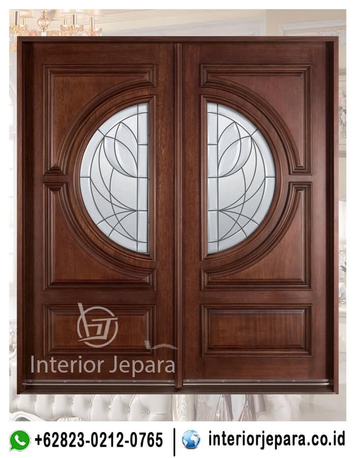 Pintu Rumah Jati Utama TFR - 0358