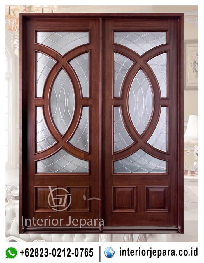 Pintu Rumah Utama Klasik TFr - 0359