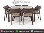 Set Kursi Makan Cafe Rotan Klasik TFR – 0310