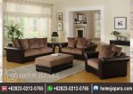 Kursi Sofa Tamu Minimalis Brown TFR – 0449
