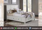 Tempat Tidur Laci Duco Putih TFR – 0501