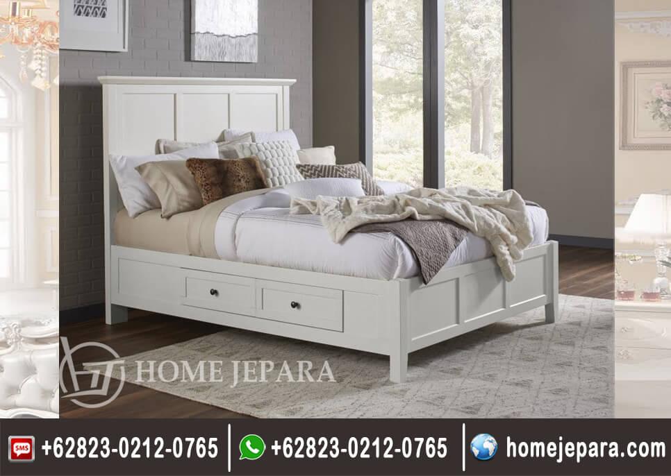 Tempat Tidur Laci Duco Putih TFR - 0501