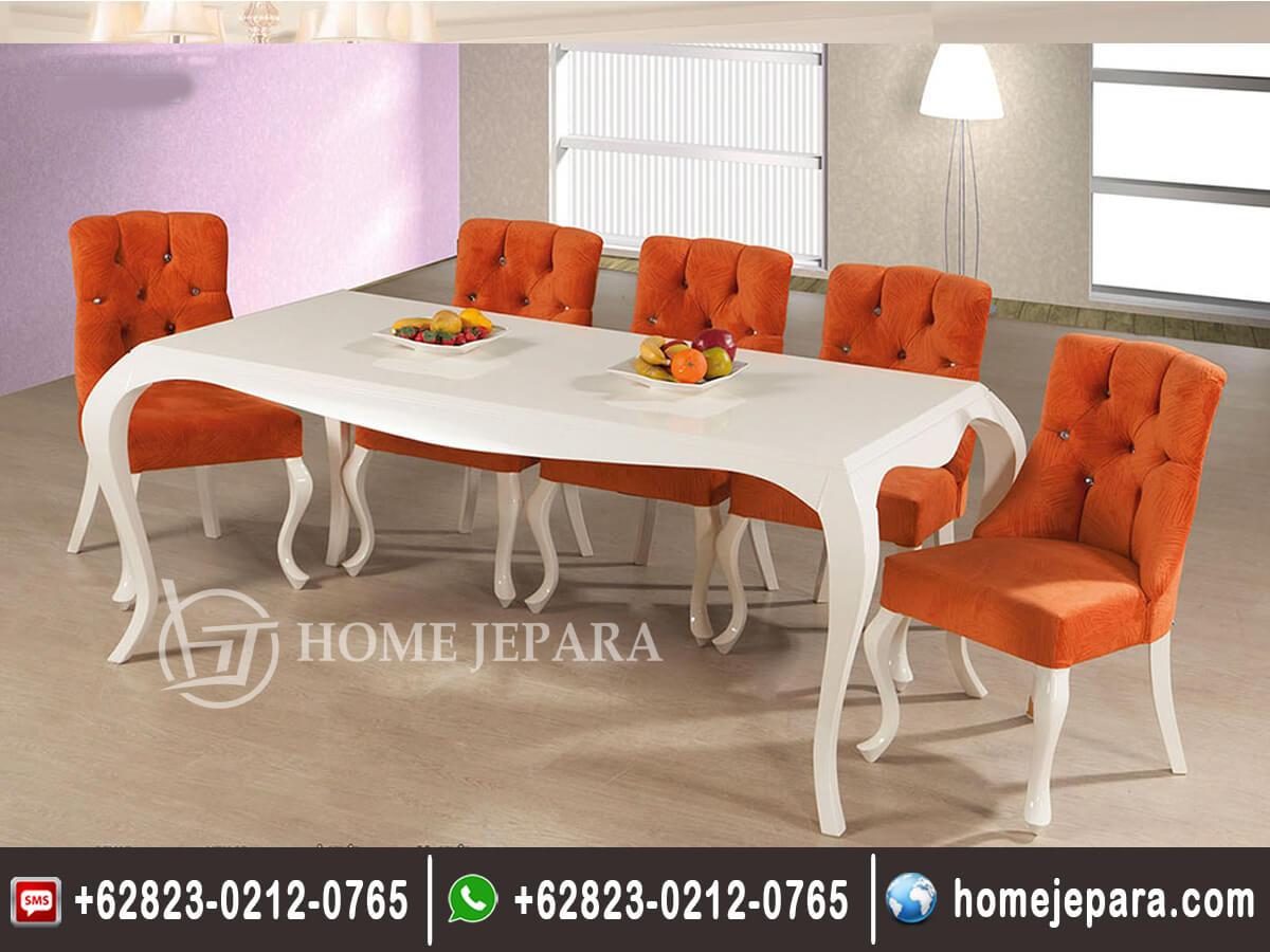 Set Meja Makan Keluarga Modern Mewah TFR - 0366
