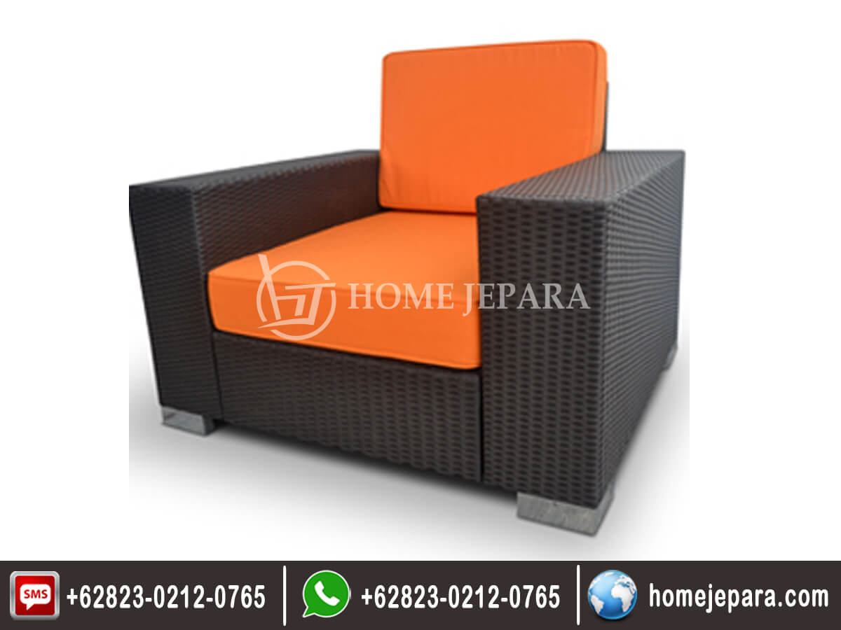 Kursi Arm Chair Minimalis Bok