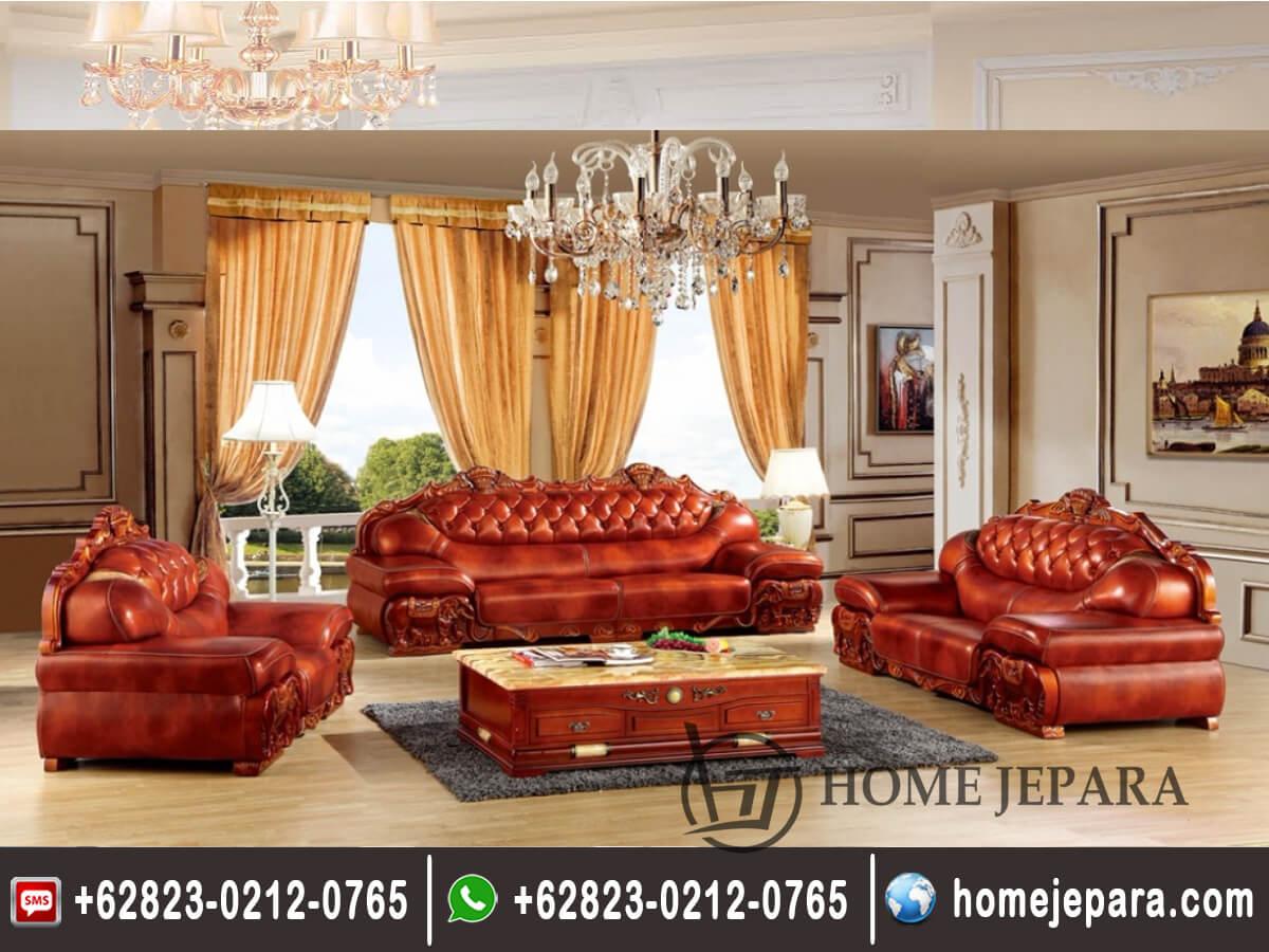 Kursi Sofa Tamu Motif Gajah TFR - 0459