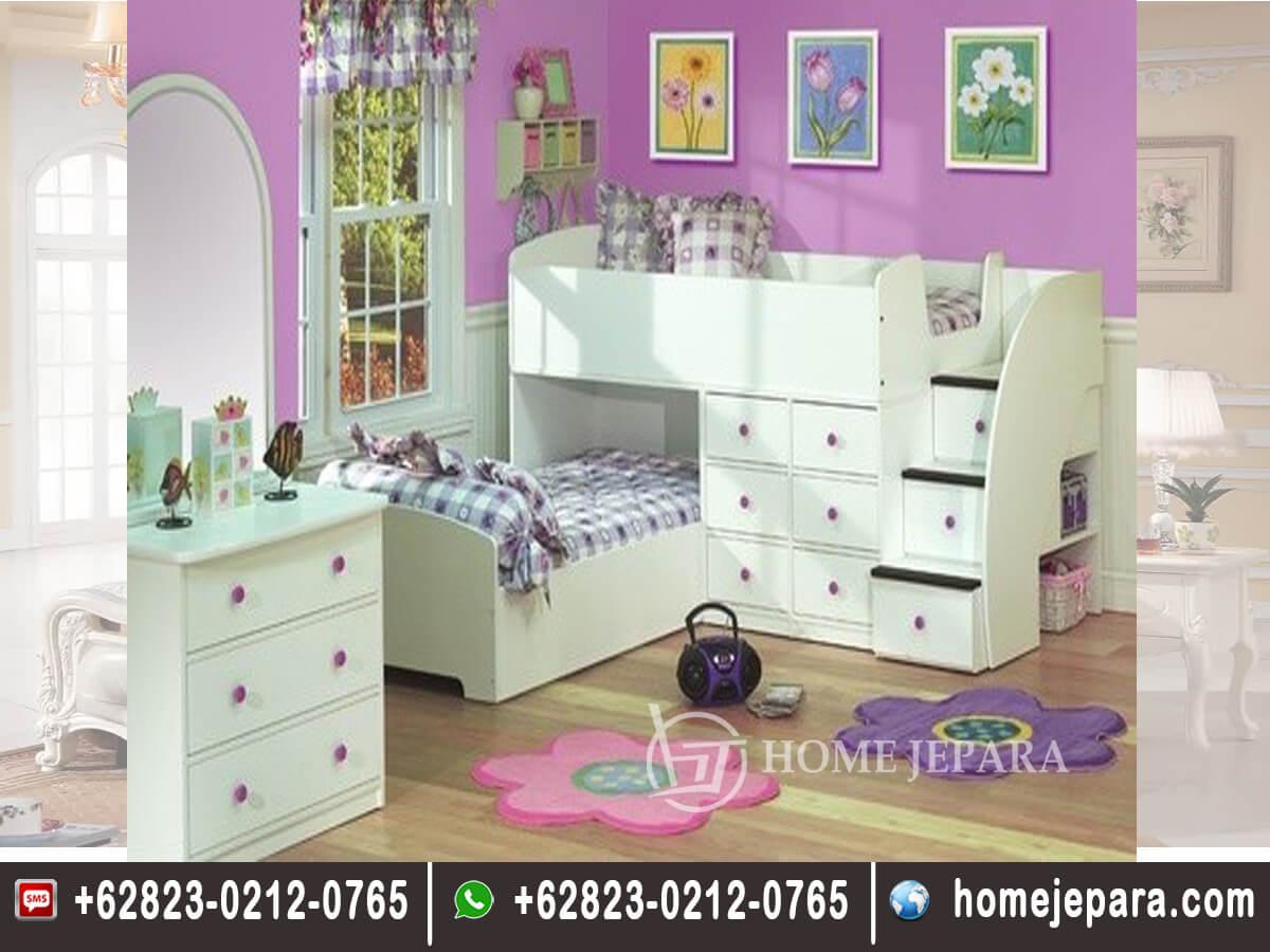 Tempat Tidur Tingkat Model Barbie TFR - 0507