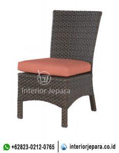 Kursi Rotan Dining Side Chair TFR – 0315