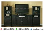Buffet Tv Pajangan Minimalis Black TFR – 0414