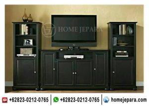 Buffet Tv Pajangan Minimalis Black TFR – 0414
