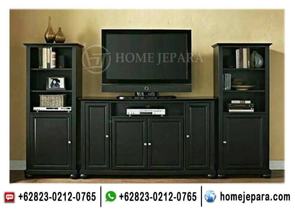 Buffet Tv Pajangan Minimalis Black TFR - 0414