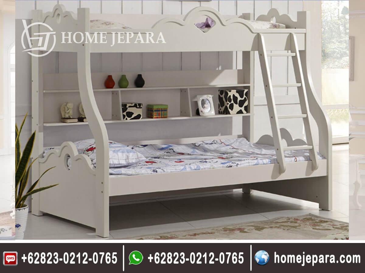 Tempat Tidur Tingkat Klasik Modern TFR - 0396