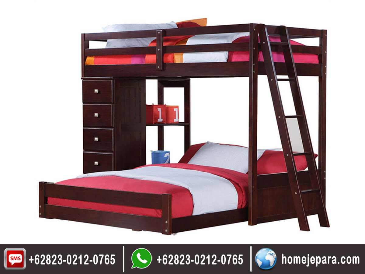 Tempat tidur tingkat minimalis over TFR - 0397