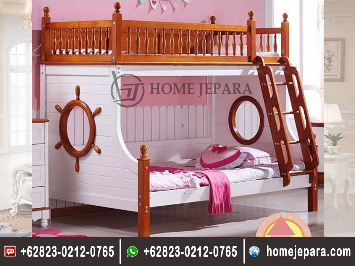 Tempat Tidur Tingkat Model Baru TFR - 0399