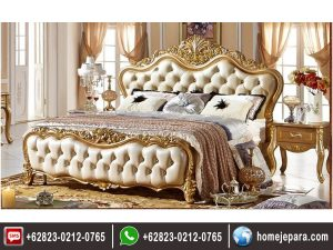 Tempat Tidur Ukiran Jepara Gold TFR – 0423