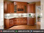 Kitchenset Jati Model Antik TFR – 0373