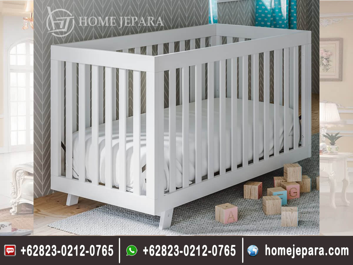 Tempat Tidur Baby Duco Putih Modern TFR - 0479