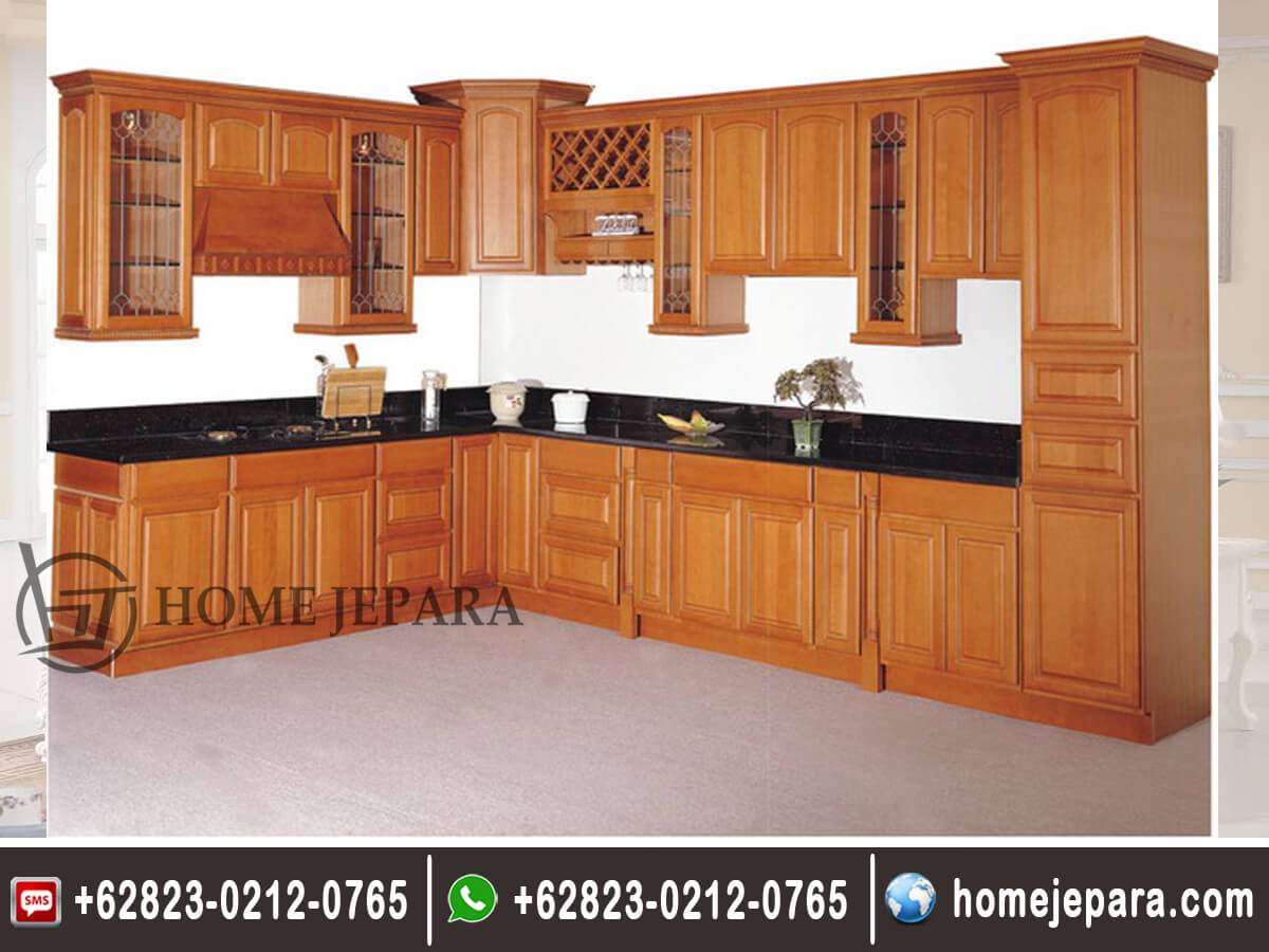 Kitchenset Jati Minimalis TFR - 0374