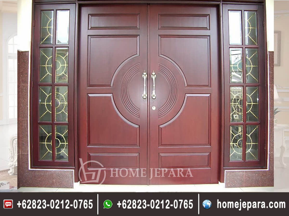 Pintu Rumah Minimalis Jati TFr - 0252