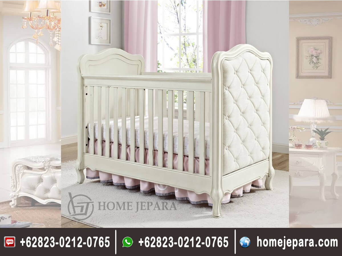 Tempat Tidur Bayi Duco Putih Modern TFR - 0477