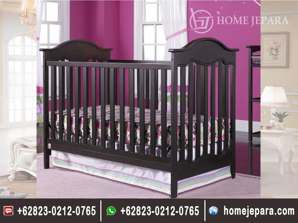 Tempat Tidur Bayi Jati Minimalis TFR - 0496