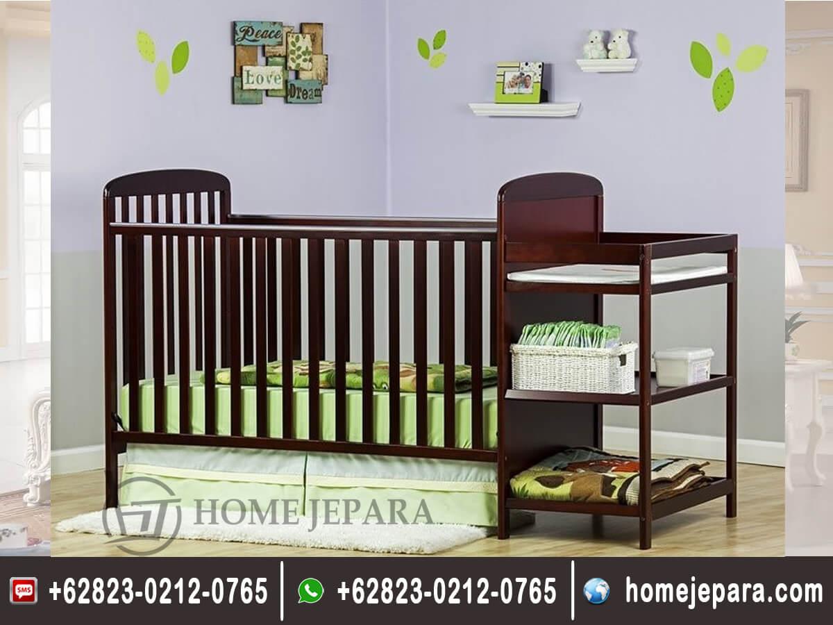 Tempat Tidur Bayi Jati Multifungsi TFR - 0497