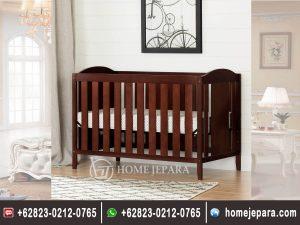 Tempat Tidur bayi Jati Minimalis TFR – 0476