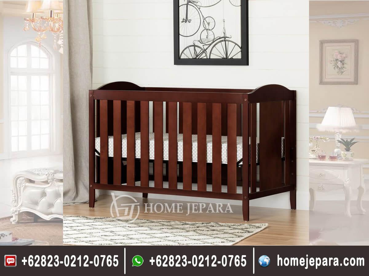Tempat Tidur bayi Jati Minimalis TFR - 0476