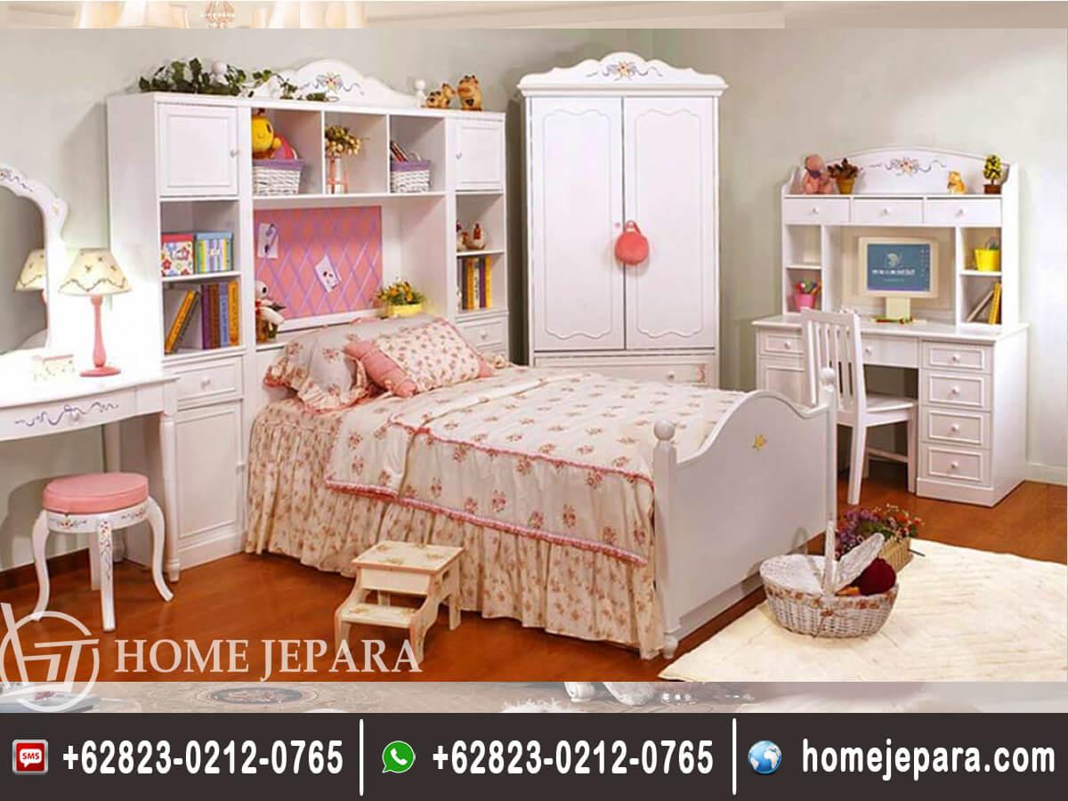 Set Kamar Tidur Anak Komplit TFR - 0402