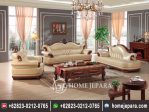 Set Sofa Tamu Jati Ukiran Model Eropa TFR – 0457