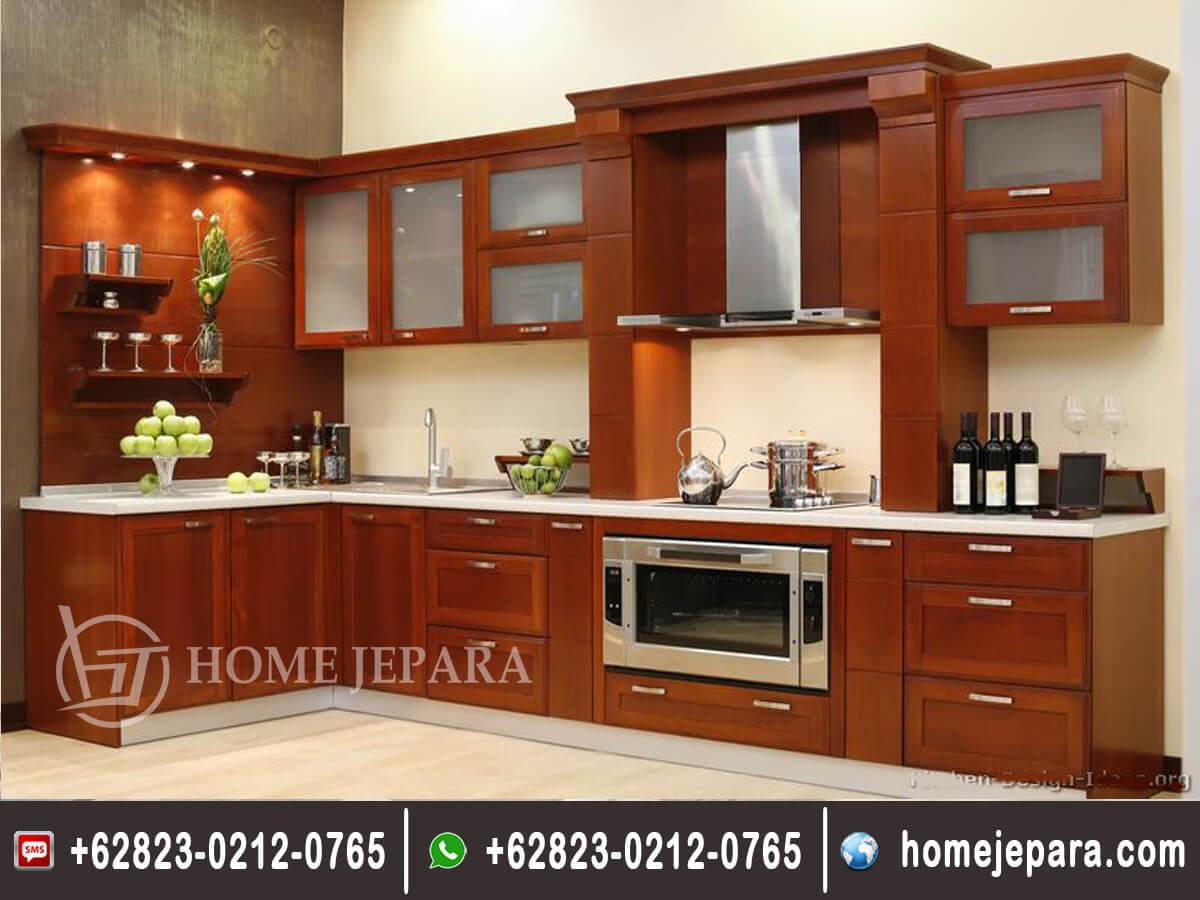 Kitchenset Minimalis Modern Natural TFR - 0372