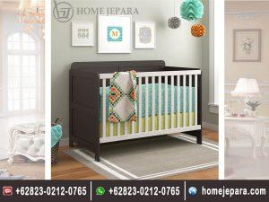 Tempat Tidur Bayi 2 Warna TFR – 0499