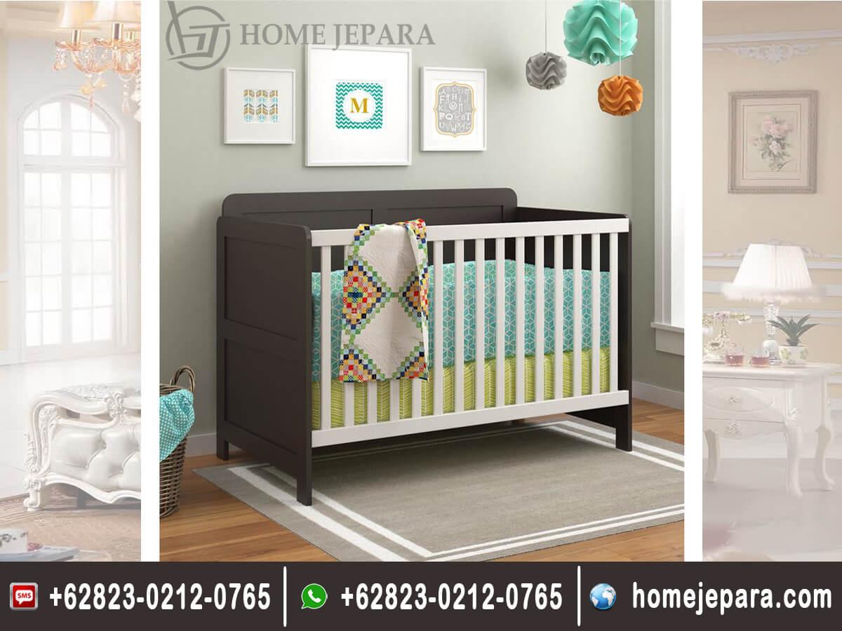 Tempat Tidur Bayi 2 Warna TFR - 0499