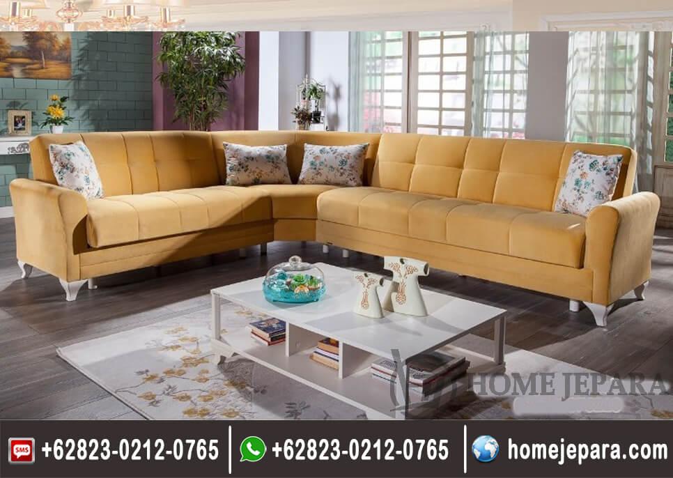 Kursi Sofa Tamu Sudut Rosalyn TFR - 0489