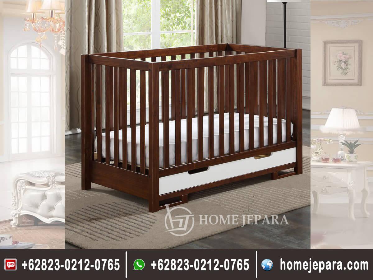 Tempat Tidur Bayi Model Laci TFR - 0498