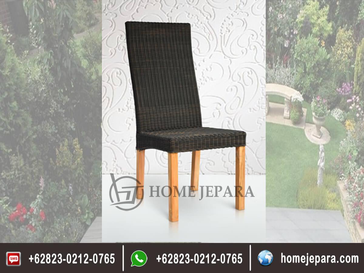 Kursi Makan Rotan Dining Chair TFR - 0290