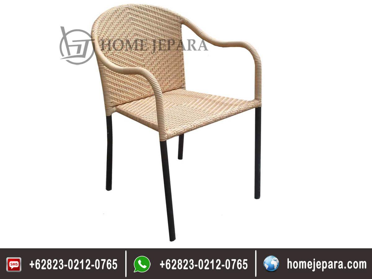 Kursi Rotan Arm Chair Thini TFR - 0291