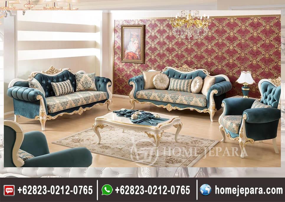 Sofa Tamu Ukiran Duco Mewah TFR - 0430